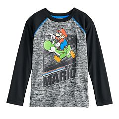 Boys 4-12 Jumping Beans® Super Mario Bros. Raglan Active Tee