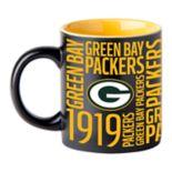 Boelter Green Bay Packers Matte Black Coffee Mug