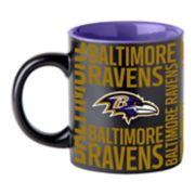 Boelter Baltimore Ravens Matte Black Coffee Mug