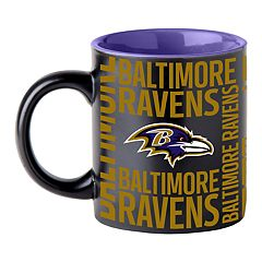 Boelter Baltimore Ravens Matte Black Coffee Mug