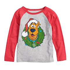 Boys 4-12 Jumping Beans® Scooby-Doo Wreath Raglan Graphic Tee