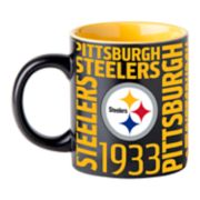 Boelter Pittsburgh Steelers Matte Black Coffee Mug