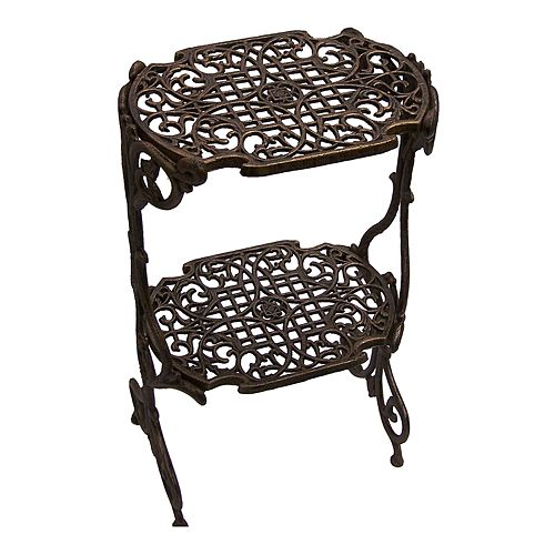 oakland living lattice plant stand outdoor