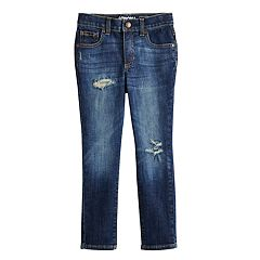 Boys 4-8 SONOMA Goods for Life™ Deconstructed Skinny Jeans
