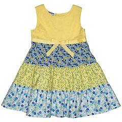 Girls 4-6x Blueberi Boulevard Floral Sundress