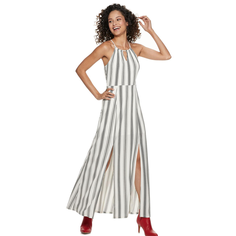 Casual White Maxi Dress