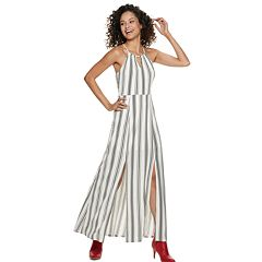 5039e6991253 Juniors' Candie's® Halter Maxi Dress