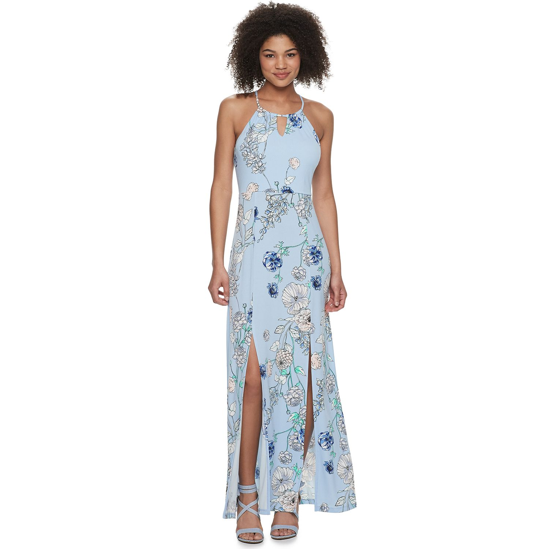 Fitted High Neck Short Formal Dresses