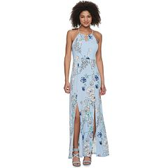 Juniors' Candie's® Halter Maxi Dress