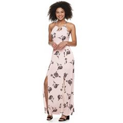 503123e197 Juniors  Candie s® Halter Maxi Dress