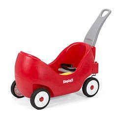 Simplay3 High Back Wagon - Red