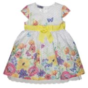 Girls 4-6x Blueberi Boulevard Floral Dress