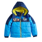 Boys 4-7 Paw Patrol Puffer Hooded Heavyweight Jacket