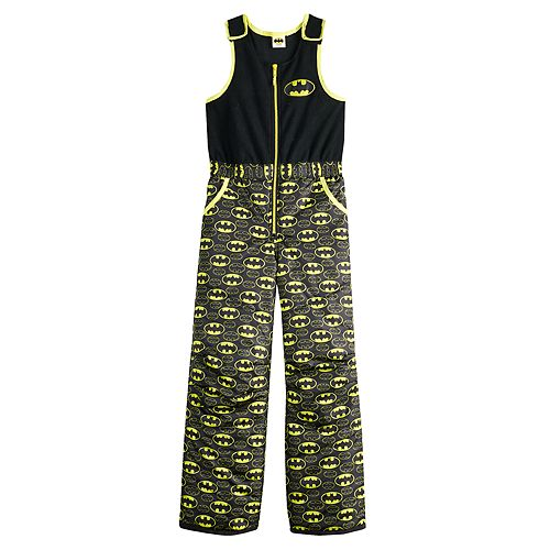 Boys 4-7 DC Comics Batman Bib Overall Snow Pants