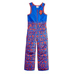 Boys 4-7 Marvel Spider-Man Bib Overall Snow Pants