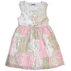Girls 4-6x Blueberi Boulevard Floral Chiffon Dress 34376a575