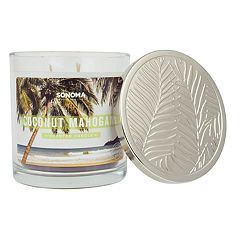 SONOMA Goods for Life™ Coconut Mahogany 14-oz. Candle Jar