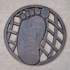 Oakland Living Footprint Garden Stepping Stone - Left - Outdoor