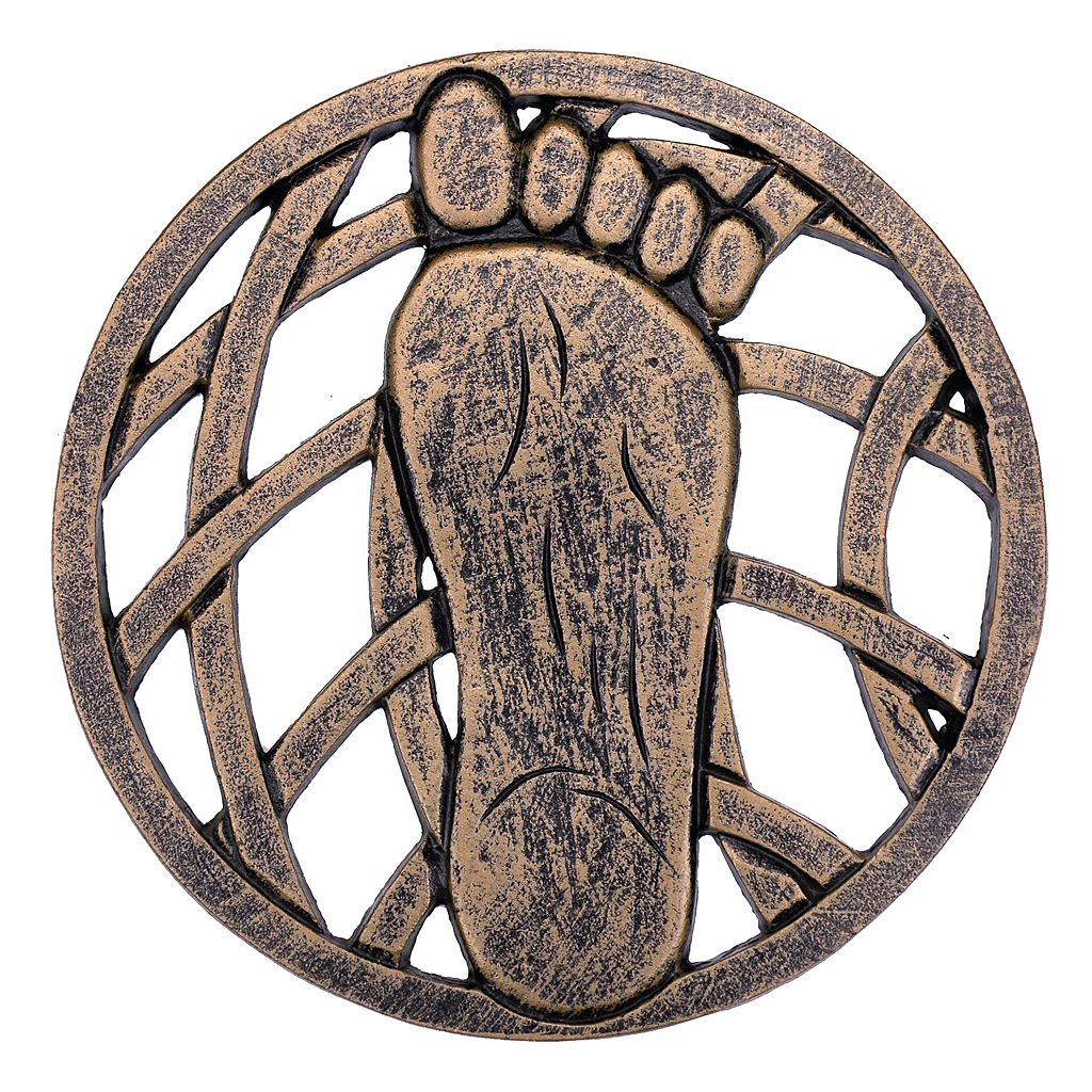 Right Foot Outdoor Stepping Stone