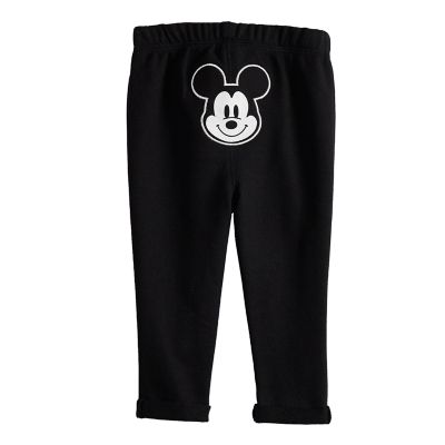 Disney's Mickey Mouse Baby Girl French Terry Pants by Jumping Beans®