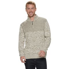 Men's Method Regular-Fit Quarter-Zip Mockneck Sweater
