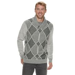 94188558fe Men s Method Regular-Fit Shawl-Collar Sweater