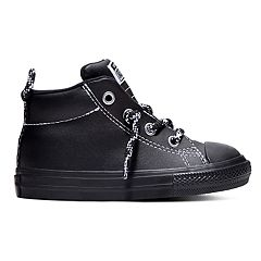Toddler Boys' Converse Chuck Taylor All Star Street Mid Leather Sneakers
