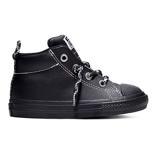 9a505b227f6c Toddler Boys' Converse Chuck Taylor All Star Street Mid Leather ...