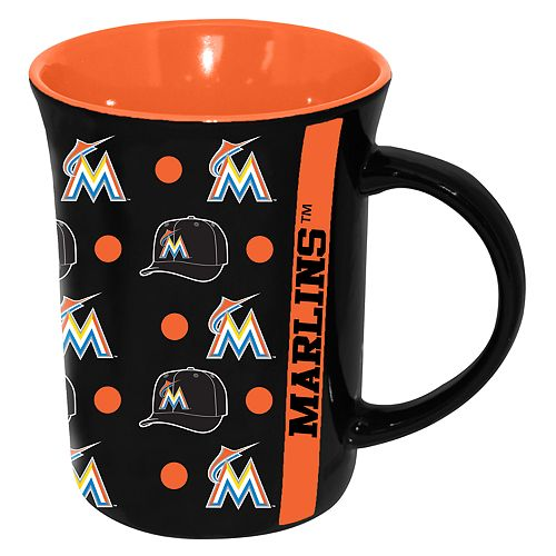Miami Marlins 15 oz. Line Up Mug