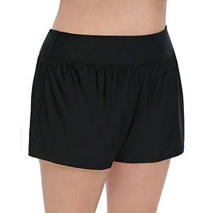 95cc4306993 Sale.  19.99. Regular.  33.00. ( 39% OFF ). Plus Size Croft   Barrow® Tummy  Slimmer High Rise Swim Shorts