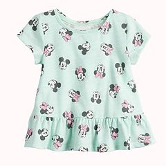 Disney's Minnie Mouse Baby Girl Peplum-Hem Top by Jumping Beans®