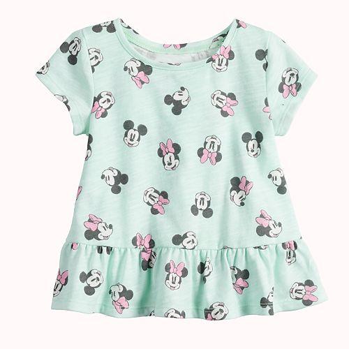 Disney's Minnie Mouse Baby Girl Peplum-Hem Top by Jumping Beans®
