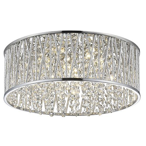Decor Therapy Collins Flush Mount Ceiling Light by Decor Therapy