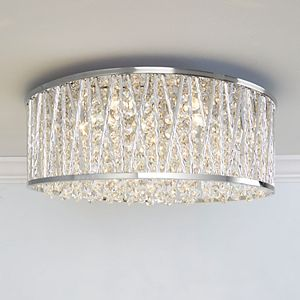 Decor Therapy Collins Flush Mount Ceiling Light