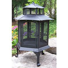 Oakland Living Lantern Fire Pit - Outdoor