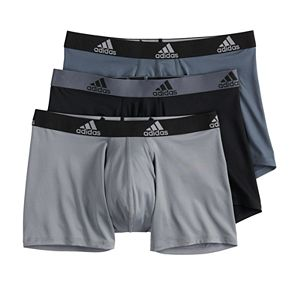 Men's adidas 3-pack climalite Boxer Briefs