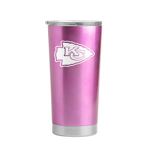 best cheap 44d84 0dbc1 Boelter Kansas City Chiefs Pink Ultra Tumbler