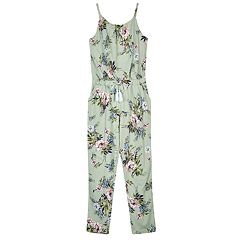 Girls 7-16 IZ Amy Byer Floral Jumpsuit