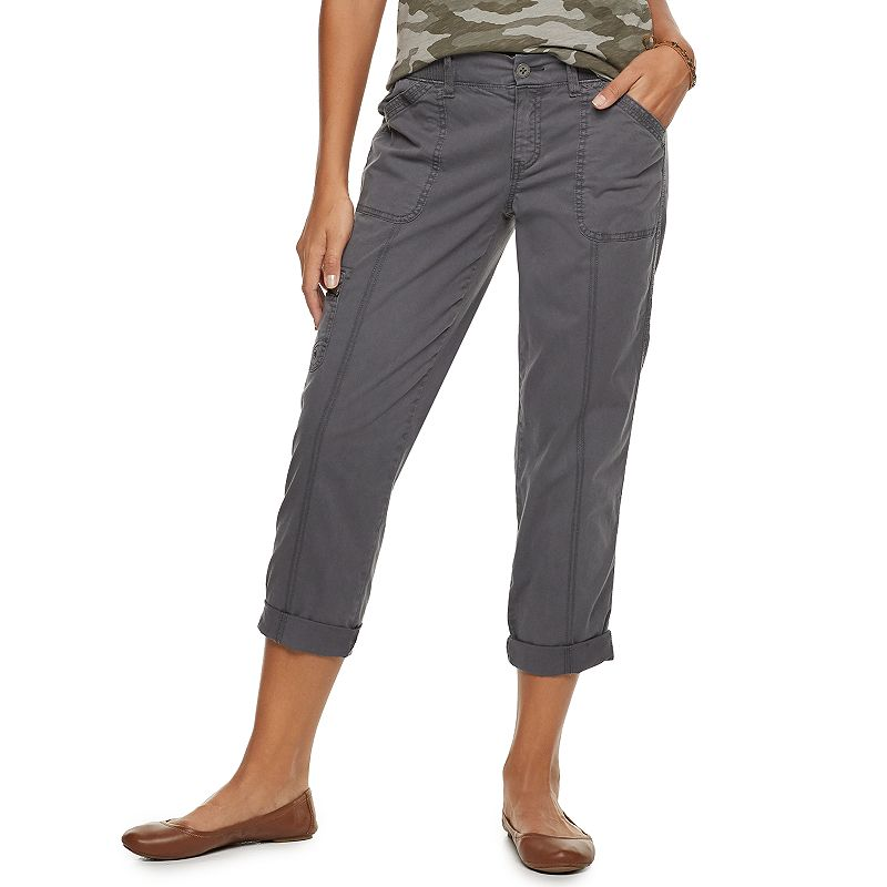 17f3a9f80bb Women's SONOMA Goods for Life™ Ultracomfort Waist Utility Capris