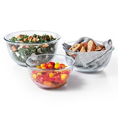 OXO Good Grips 3-piece Glass Bowl Set