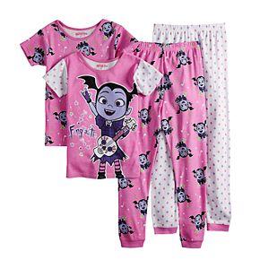 Disney's Vampirina Girls 4-8 Tops & Bottoms Pajama Set