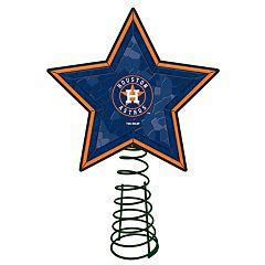 Houston Astros Mosaic Christmas Tree Topper