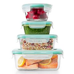 OXO Good Grips Smart Seal 12-piece Glass Food Storage Container Set