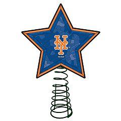 New York Mets Mosaic Christmas Tree Topper