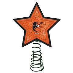 Baltimore Orioles Mosaic Tree Topper