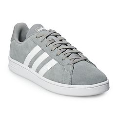 timeless design ca925 bac70 adidas Grand Court Men s Suede Sneakers