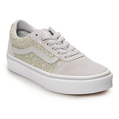 Vans Ward Glitter Girls' Skate Shoes
