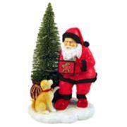 Maryland Terrapins Santa with LED Christmas Tree Figurine