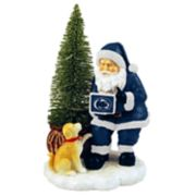 Penn State Nittany Lions Santa with LED Christmas Tree Figurine