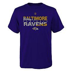 Boys 4-18 Baltimore Ravens Flux Tee
